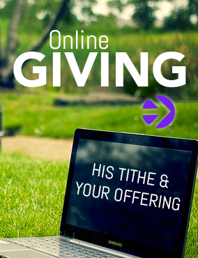Online Giving - His Tithe and your offering